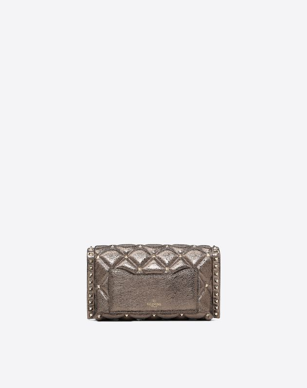 Metallic Candystud Shoulder Bag