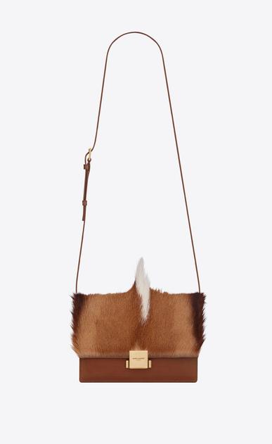 SAINT LAURENT Bellechasse Woman medium bellechasse saint laurent satchel in natural in springbok leather a_V4