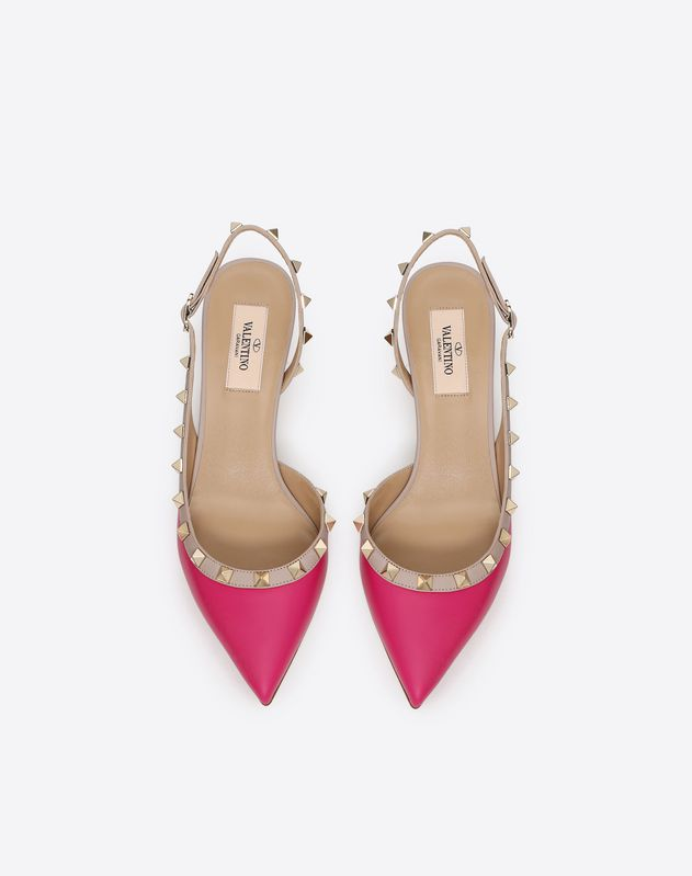 Rockstud Slingback Pump 50mm