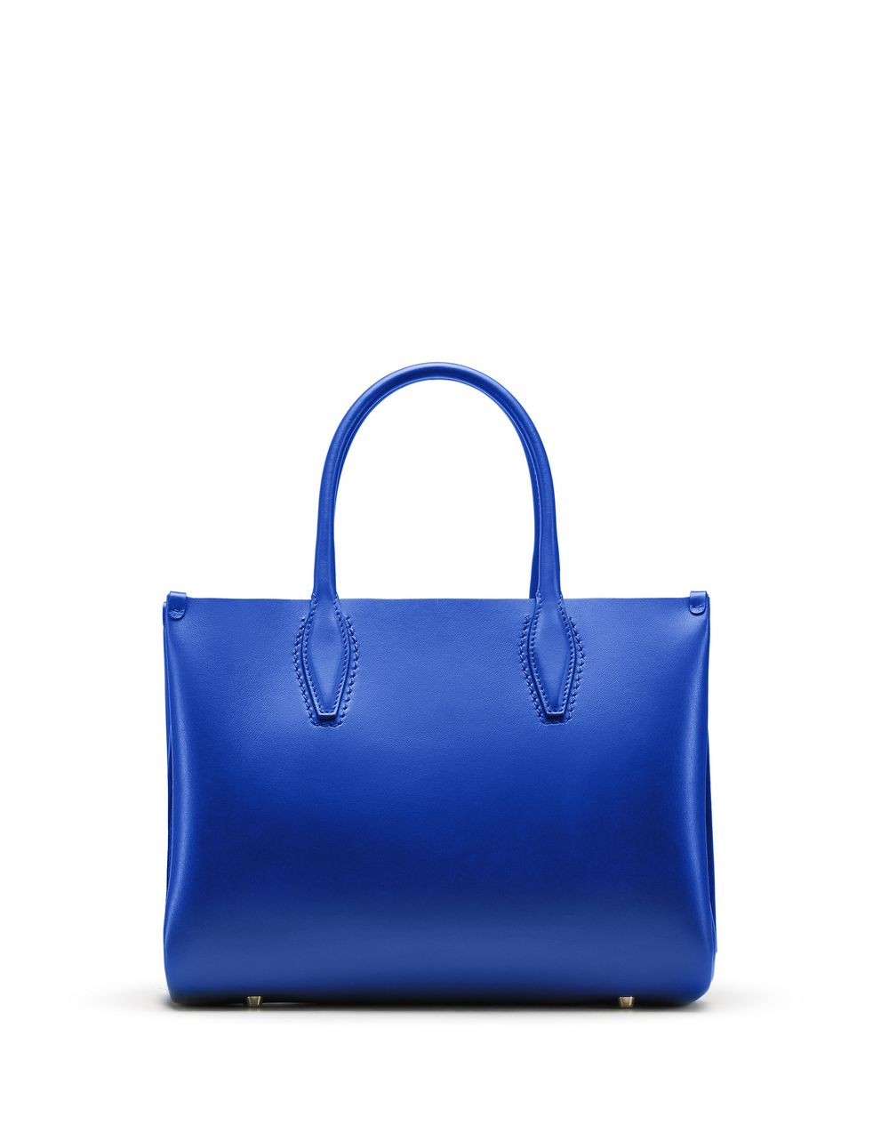 "MINI ELECTRIC BLUE ""JOURNÉE"" BAG - Lanvin"