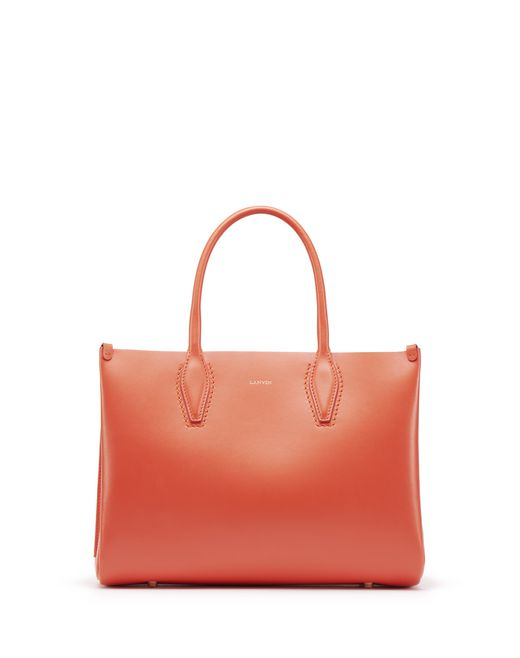 "MINI BRIGHT ORANGE ""JOURNÉE"" BAG - Lanvin"