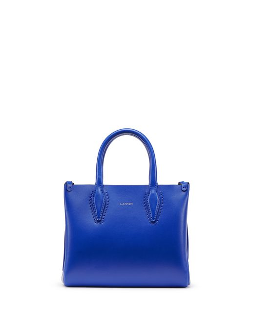 "NANO ELECTRIC BLUE ""JOURNÉE"" BAG - Lanvin"