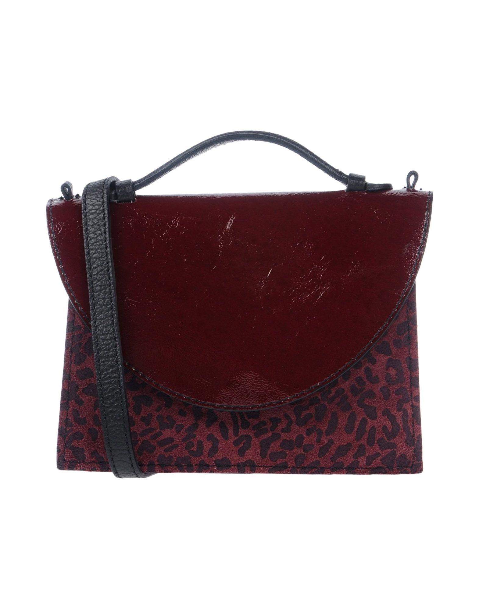 IMEMOI Handbag in Maroon