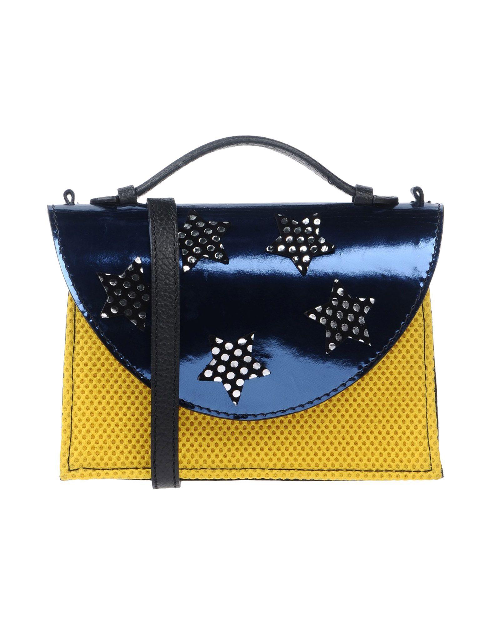 IMEMOI Handbag in Dark Blue
