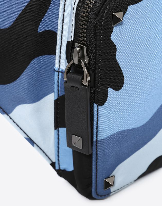 Camouflage Nylon Belt Bag