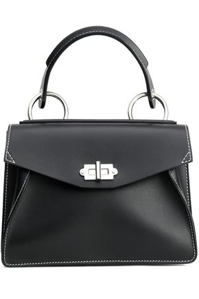 PROENZA SCHOULER Glossed-leather shoulder bag