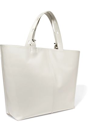 KARA Betty large leather tote
