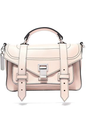PROENZA SCHOULER PS1 Tiny textured-leather shoulder bag