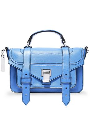 PROENZA SCHOULER PS1 textured-leather shoulder bag
