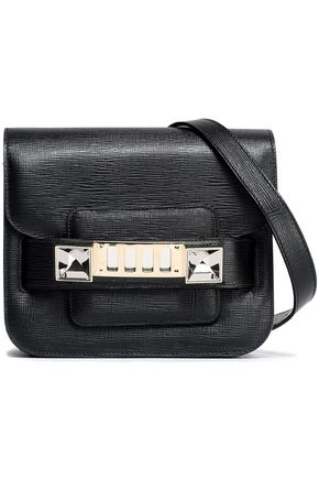 PROENZA SCHOULER PS11 Tiny textured-leather shoulder bag