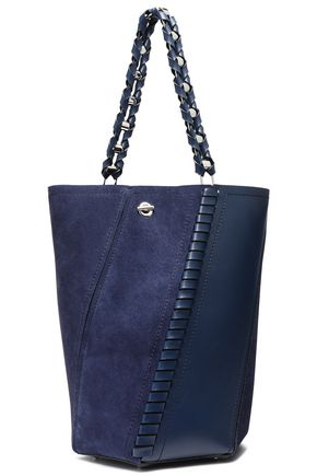 PROENZA SCHOULER Leather and suede bucket bag