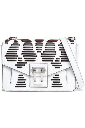 PROENZA SCHOULER Whipstitch-trimmed leather shoulder bag
