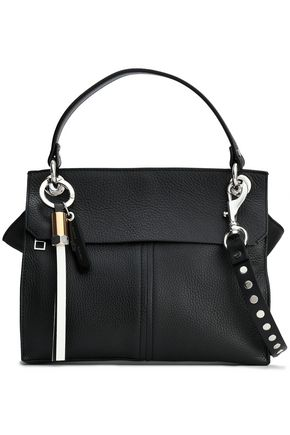 PROENZA SCHOULER Studded textured-leather shoulder bag