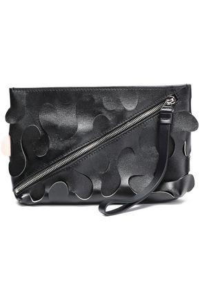 PROENZA SCHOULER Laser-cut leather pouch