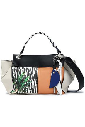 PROENZA SCHOULER Printed leather shoulder bag
