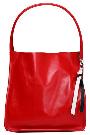 PROENZA SCHOULER Glossed-leather tote