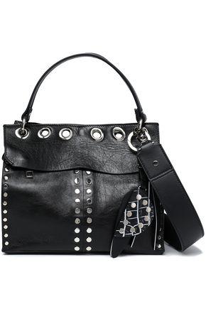 PROENZA SCHOULER Eyelet-embellished leather shoulder bag