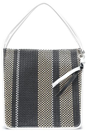 PROENZA SCHOULER Striped leather tote