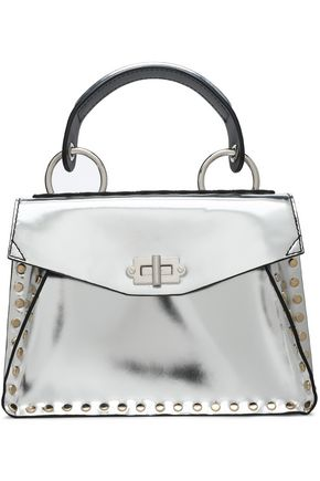 PROENZA SCHOULER Hava studded mirrored-leather shoulder bag