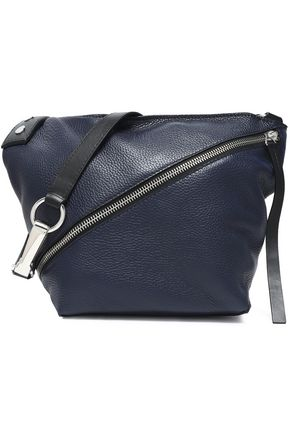 PROENZA SCHOULER Zip-detailed textured-leather shoulder bag