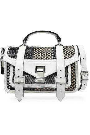 PROENZA SCHOULER Woven leather shoulder bag