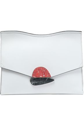 PROENZA SCHOULER Curl leather clutch