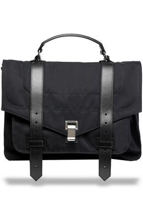 PROENZA SCHOULER Leather-trimmed shell shoulder bag