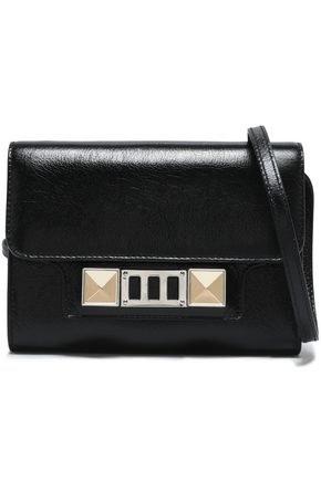 PROENZA SCHOULER PS11 glossed-leather shoulder bag