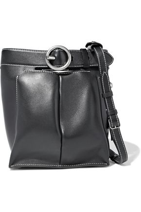 ACNE STUDIOS Buckle Jeans leather bucket bag