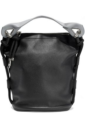 ACNE STUDIOS Textured-leather shoulder bag