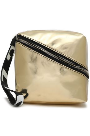 PROENZA SCHOULER Metallic leather clutch
