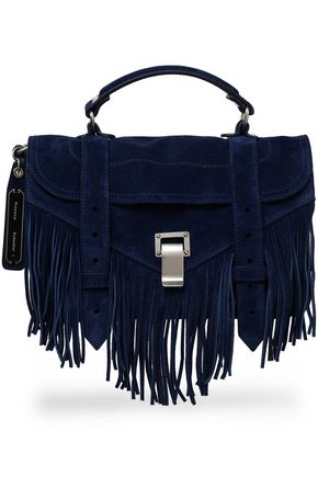PROENZA SCHOULER PS1 fringed suede shoulder bag