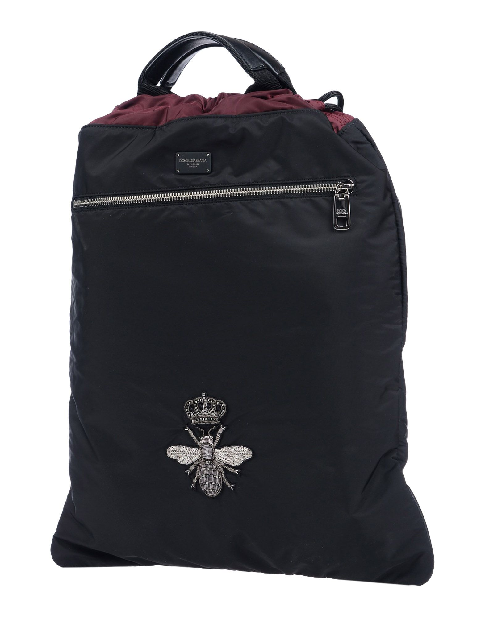 DOLCE & GABBANA Рюкзаки и сумки на пояс цена и фото