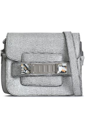 PROENZA SCHOULER PS11 Tiny printed textured-leather shoulder bag