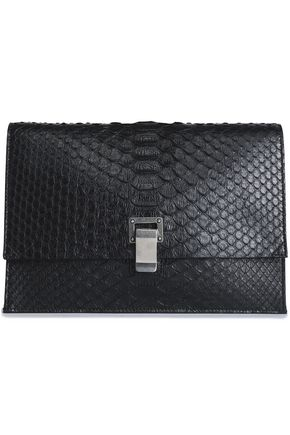 PROENZA SCHOULER Lunch Bag python clutch