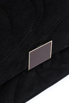 EMILIO PUCCI Quilted suede shoulder bag