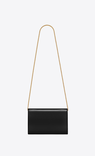 SAINT LAURENT Mini bags Monogramme Woman Monogram chain wallet in patent leather b_V4