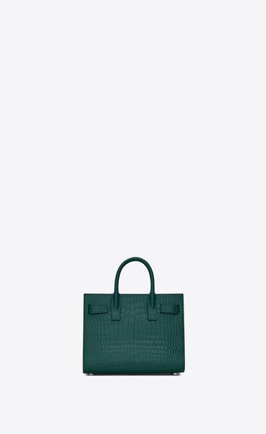 SAINT LAURENT Nano Sac de Jour レディース classic sac de jour nano in embossed crocodile shiny leather b_V4