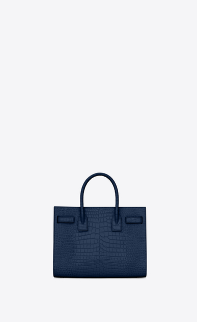 SAINT LAURENT Sac De Jour Small Woman classic sac de jour baby in embossed crocodile shiny leather b_V4