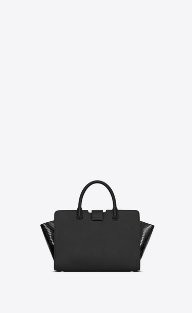 SAINT LAURENT ワイ・ライン・ミニ レディース downtown baby cabas in smooth and python leather b_V4