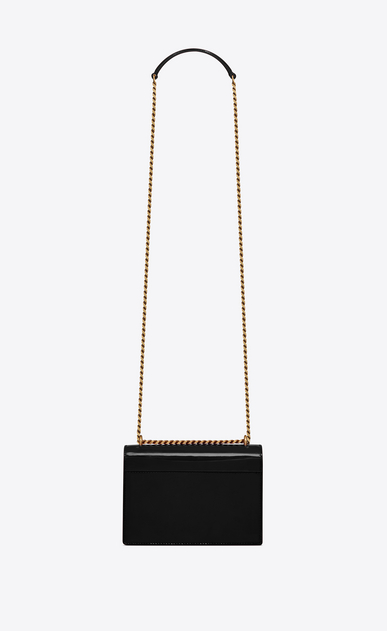 SAINT LAURENT Sunset Woman Sunset small in patent leather b_V4