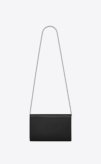 SAINT LAURENT Mini bags Monogramme Woman Monogram chain wallet in leather and heart studs b_V4