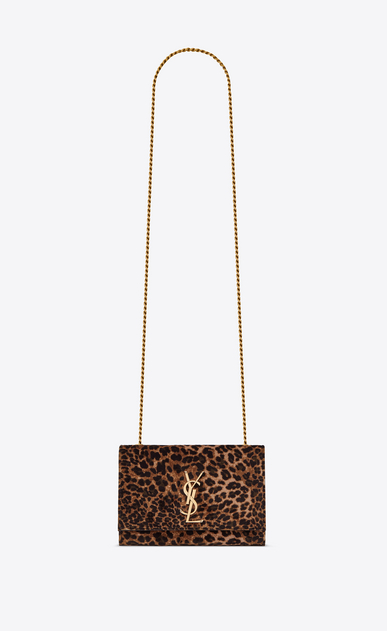 KATE small in leopard printed velvet