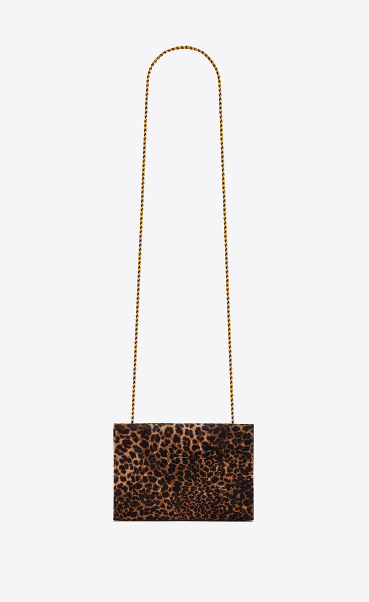 d637a28a6f8f Saint Laurent KATE Small In Leopard Printed Velvet