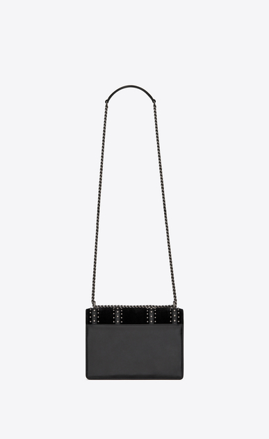 SAINT LAURENT Sunset Woman SUNSET Medium in leather suede and studs b_V4