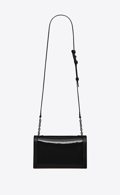 SAINT LAURENT Book bag Damen BOOK BAG aus schwarzem Lackleder – E-Shop-Exklusivität b_V4
