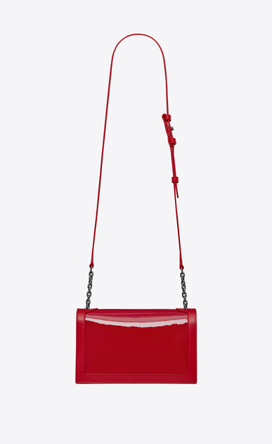 SAINT LAURENT Book bag Damen BOOK BAG aus rotem Lackleder – E-Shop-Exklusivität b_V4