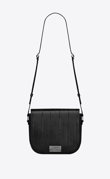 SAINT LAURENT Betty Woman betty satchel in eel and leather a_V4