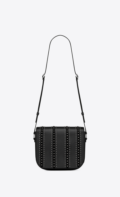 SAINT LAURENT Betty Woman betty satchel in leather suede and studs b_V4