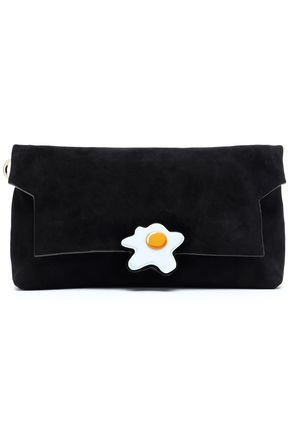 ANYA HINDMARCH Embellished leather clutch
